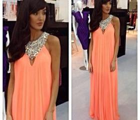 Chiffon Prom Dress, ..