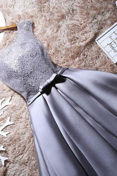 Silver Homecoming Dresses,Short Prom Dresses,Party Dresses 2017,Graduation Dress
