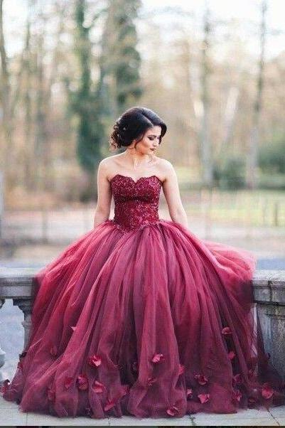 burgundy Prom Dress,A-line Prom Dress,Prom Dress 2017,charming Prom Gowns,new arrive evening gown,gorgeous prom Dress
