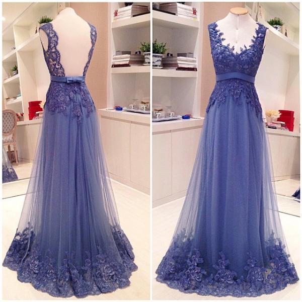Lace Prom Dress, Off Shoulder Prom Dress, Prom Dress 2015, Pretty Prom Dress, Backless Prom Dress, Modest Prom Dress, Fantastic Prom Dress
